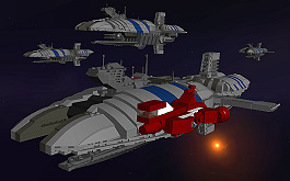 Munificent Star frigates and Republic cruiser